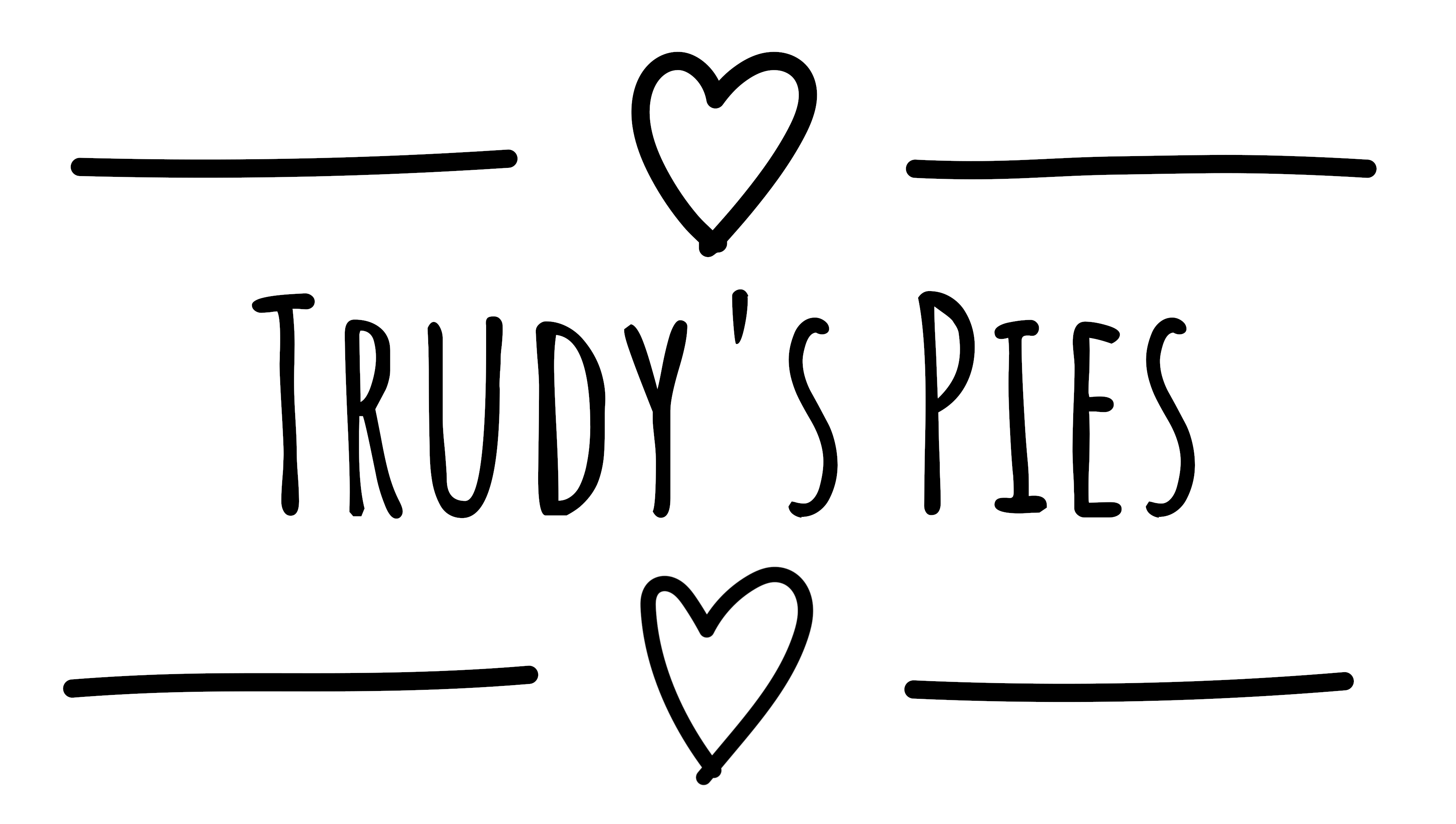Trudy's Pies Logo
